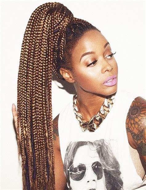 braided ponytail hairstyles  black hair  natural