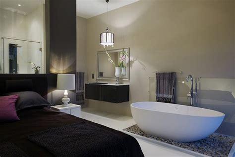 under towel rack design for the romantic bathtubs in the bedroom