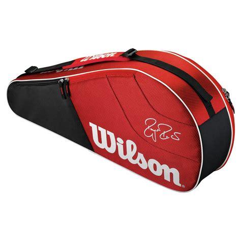 wilson federer team  pack tennis bag sportverzlunis