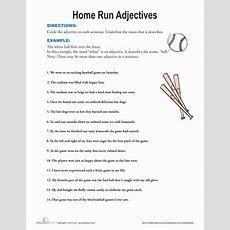 Find The Adjectives  Worksheet Educationcom