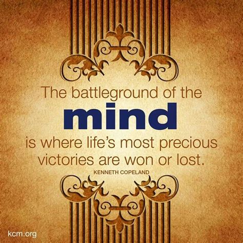 Battle In Your Mind Quotes