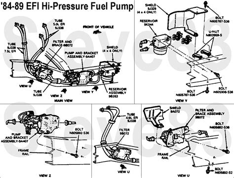 1989 Ford F 250 Fuel System Diagram by 1988 F250 Fuel Filter Page 2 Ford Truck Enthusiasts Forums