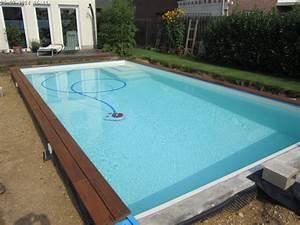 Pool Mit Holzterrasse : holz am pool teil 2 baublog von katja alexey ~ Whattoseeinmadrid.com Haus und Dekorationen