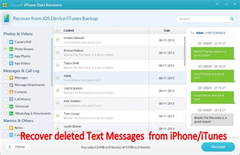 how to retrieve deleted texts on iphone 5c how to retrieve deleted text messages from iphone 5 4s 4