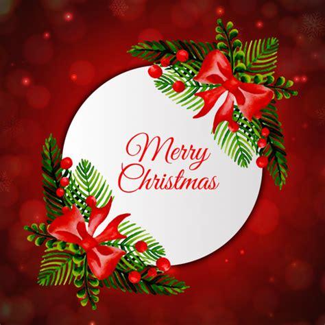 cornici natalizie gratis acquerello cornice di natale scaricare vettori gratis