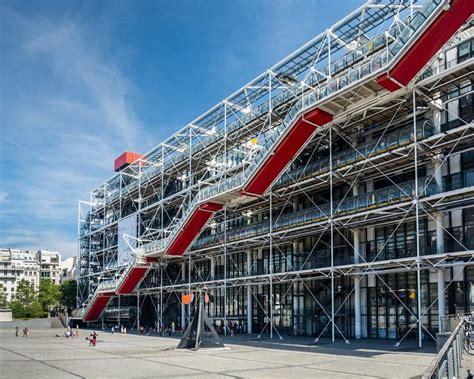 top  interesting facts   centre pompidou