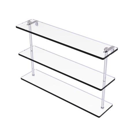 moen preston    glass bath shelf  chrome dnch