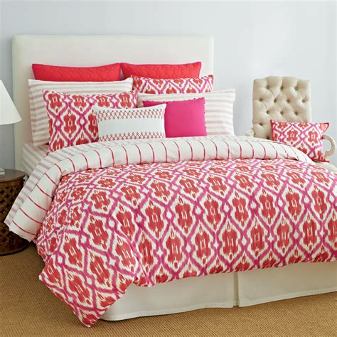 tommy hilfiger preppy ikat bedding collection from