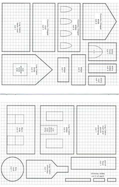 fancy gingerbread house templates chapel template