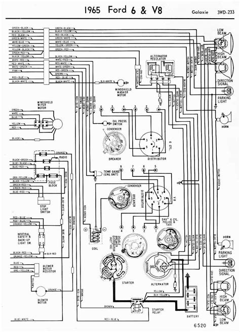 Wiring Diagrams Ford Galaxie Part