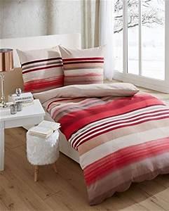 Bettwäsche Biber Rot : sch ne bettw sche aus biber rot 135x200 von kaeppel bettw sche ~ Markanthonyermac.com Haus und Dekorationen