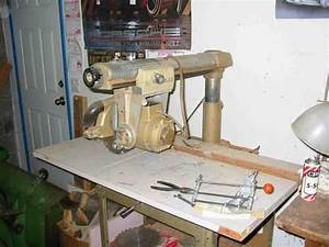 Old Craftsman Radial Arm Saw - Woodworking Talk