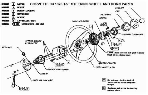 Steering Wheel Column Wiring Diagram by 1978 Chevy Truck Steering Column Wiring Diagram Wiring