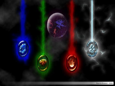 Les Anges Des 4 Elements