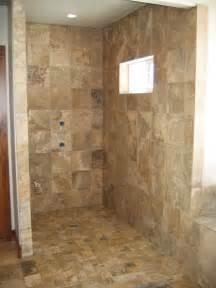 Barrier Free Roll in Shower