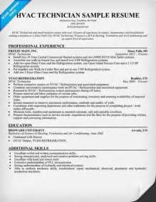entry level hvac resume objective luck with the hvac technician resume sle