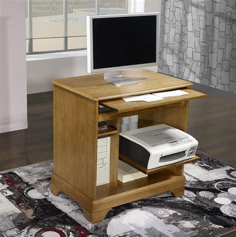 petit meuble bureau petit bureau informatique en chêne de style louis philippe