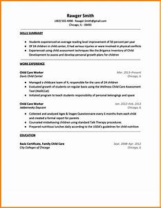 child care provider resume template learnhowtoloseweightnet With how to make a resume for child care job