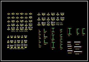 Hardware Blocks Bundle】★ - CAD Files, DWG files, Plans and