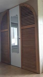 Porte De Placard Lapeyre : porte persienne collection et porte coulissante persienne ~ Dailycaller-alerts.com Idées de Décoration