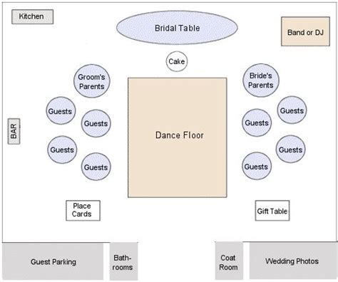 wedding reception layout how to arrage 8ft reception table in the same room as the
