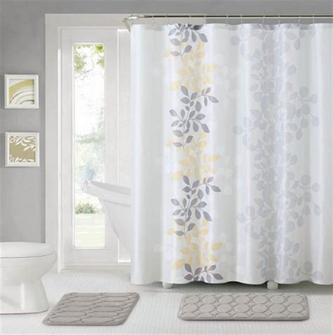 savvy spending kohls bathroom set shower curtain hooks   rugs