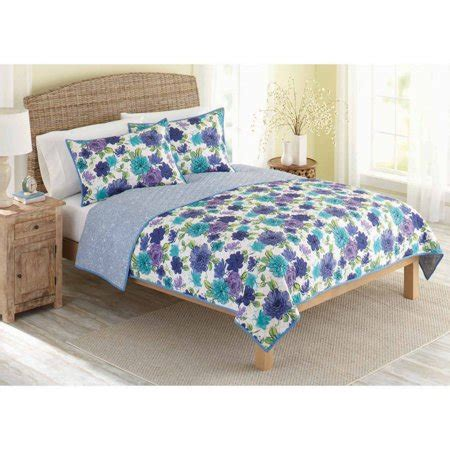 better homes and gardens bedding better homes and gardens quilt collection watercolor