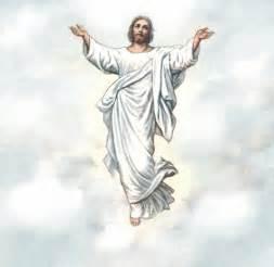 Jesus Ascension into Heaven Clip Art