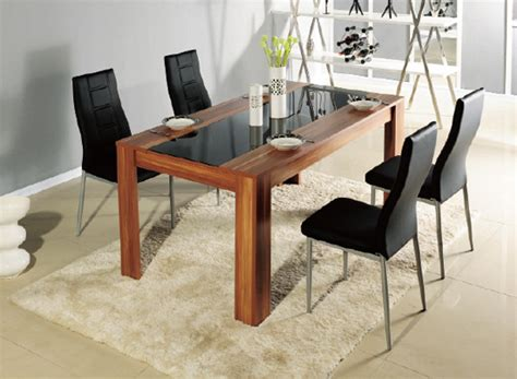 modern wood dining table best dining table ideas