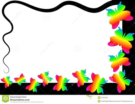Free Clip Free Clipart Butterfly Borders Clipground
