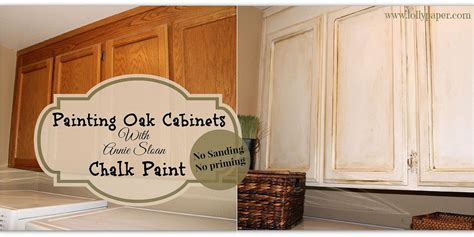 painting oak kitchen cabinets with chalk paint hometalk painting over oak cabinets without sanding or 171