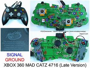 Tatsunoko Vs Capcom Fight Stick To Madcats 360 PCB