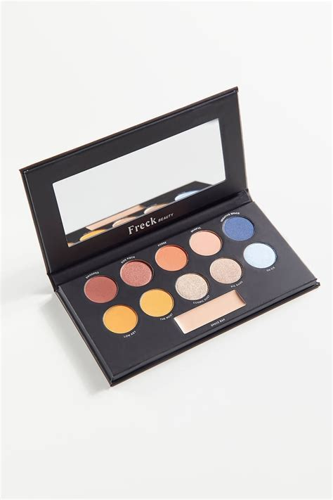 freck beauty palette pigment uo pressed exclusive makeup palettes popsugar