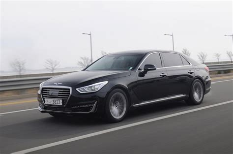 Genesis Car G90 by 2016 Genesis G90 Review Review Autocar