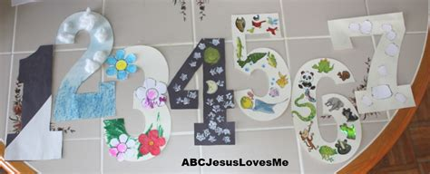 creation ideas for preschoolers abcjesuslovesme 962 | Creation%20Numbers