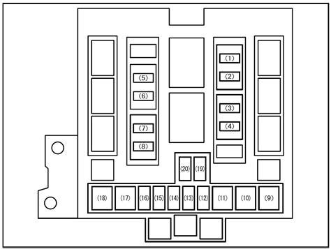suzuki grand vitara  fuse box diagram auto genius