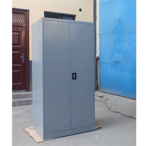 closet cabinet for sale double door steel or iron wardrobe design metal wardrobe