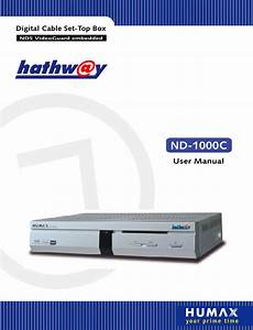 Download Humax Cable Box Nd