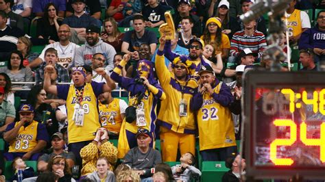 best gifts for lakers fans ranking the nba 39 s five best fan bases fox sports
