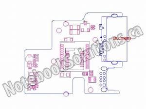 Toshiba Original Circuit Board  Lan