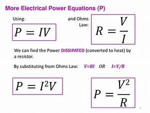 what power is dissipated by each resistor - 28 images ...