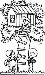 Coloring Tree Pages Library Popular Clipart sketch template