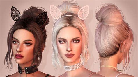 sims  mods  hair styles   pwrdown