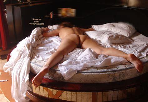 Nude Spread Eagle On Round Bed September 2007 Voyeur