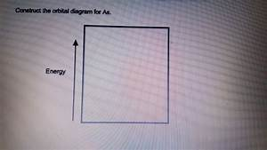 34 Construct The Orbital Diagram For As