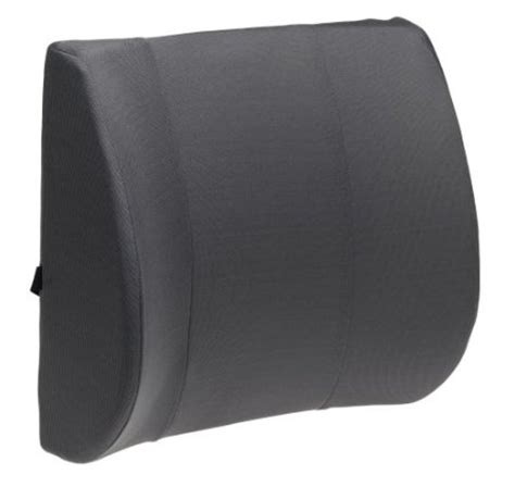 firm lumbar support cushion with memory foam