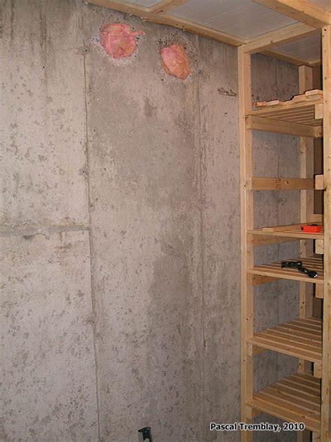 comment faire une chambre froide construire une chambre froide au sous sol guide plan de
