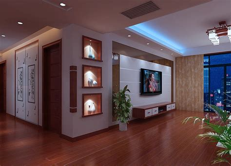 wall cabinets for living room living room tv wall and display cabinets render night