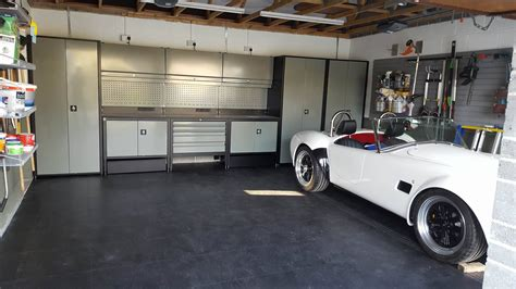 Gallery « Dream Garage  Garage Cabinets Garage Floor Tiles