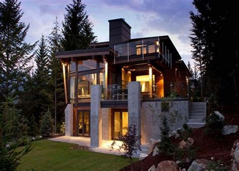 Small custom homes orange color design photo gallery and